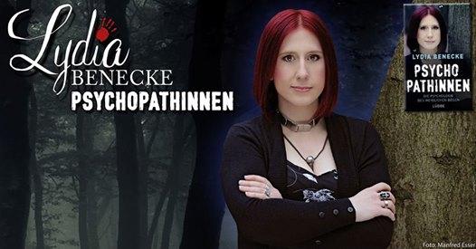 Lydia Benecke mit Buch